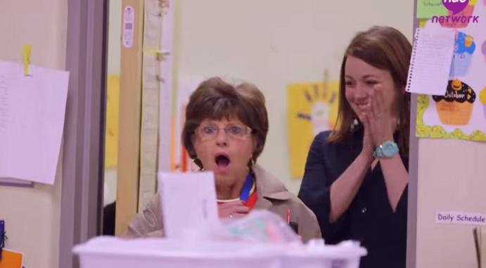 surprise party for teacher retirement