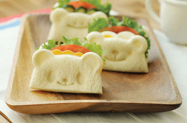 cute animal bread stamps