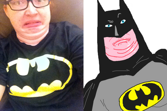 people take selfies others draw them