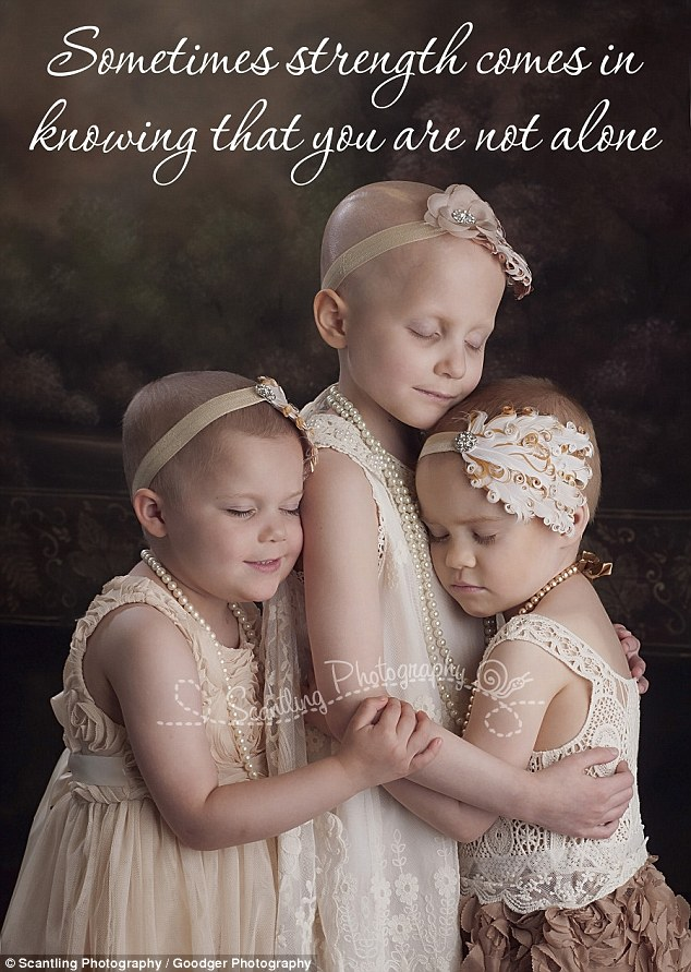 three girls cancer remission