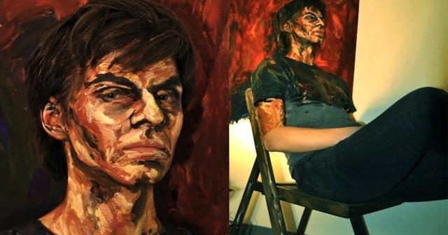 real life people look like oil paintings