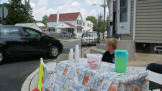 9 year old lemonade stand hearing aids