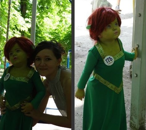 fiona cosplay kid