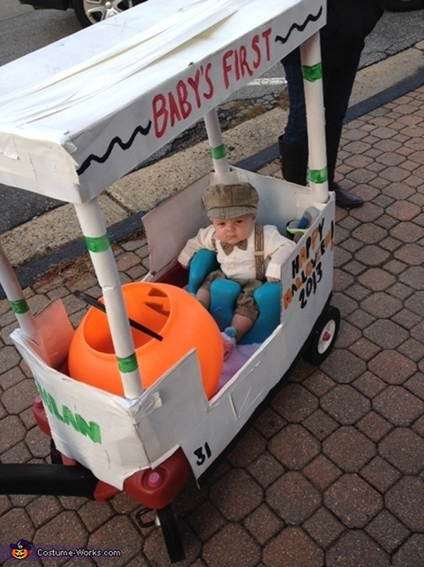 funny and cute baby Halloween costumes