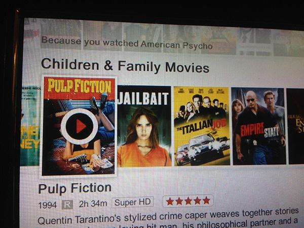 Netflix is drunk