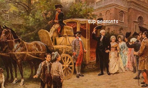 adventures of George Washington