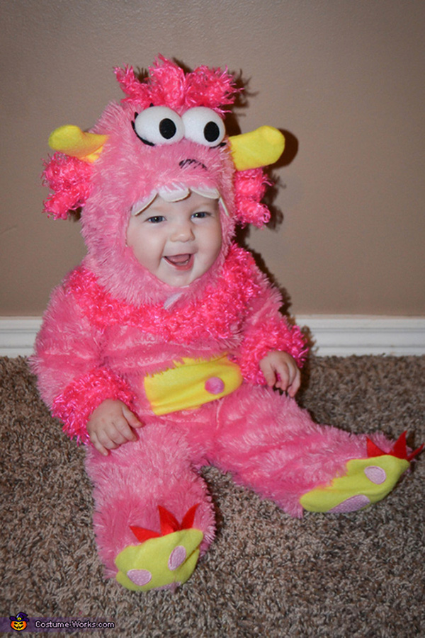 monster funny and cute baby halloween costumes - Baby Monster Halloween Costumes