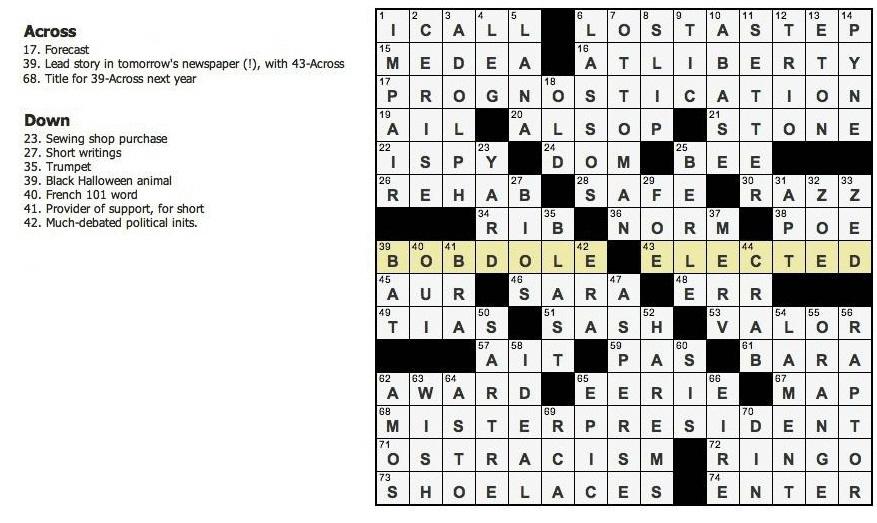 best crossword ever