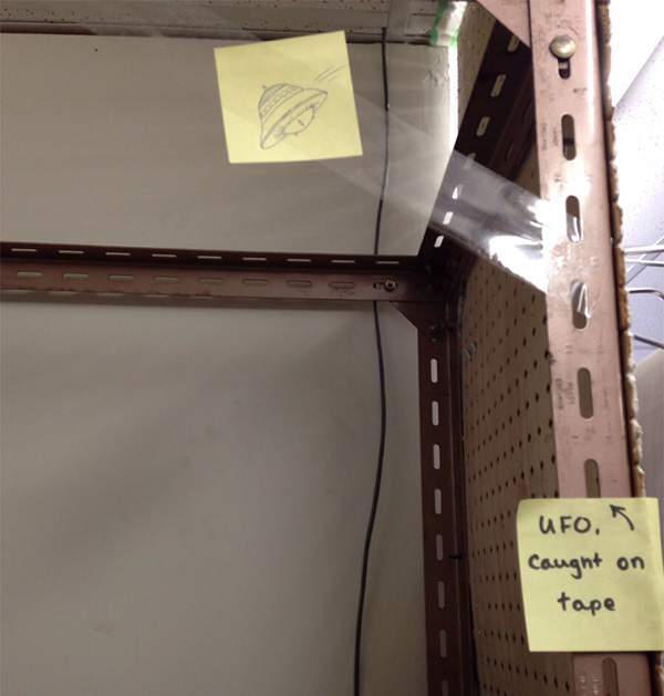 UFO caught on tape picture