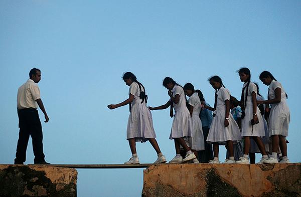 how children get to school around the world