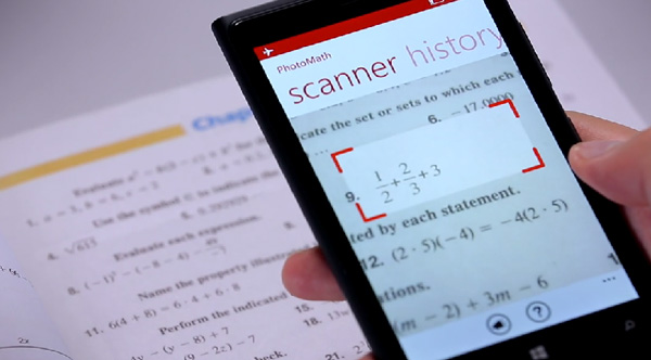 math app solves problems by scanning
