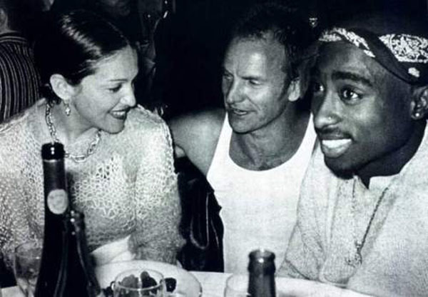 old photos of culture icons together