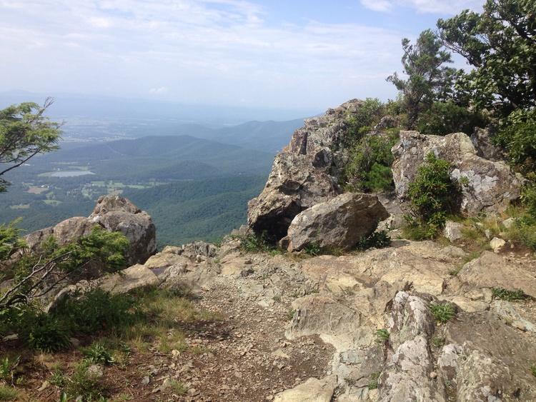 man hikes Appalacian Trail