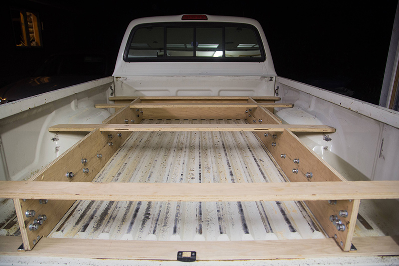 What this guy built is brilliant and going to make truck owners very jealous - Truck bed storage ideas ...
