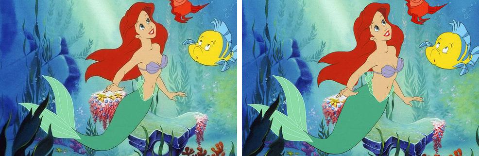 Disney princess waistlines realistic