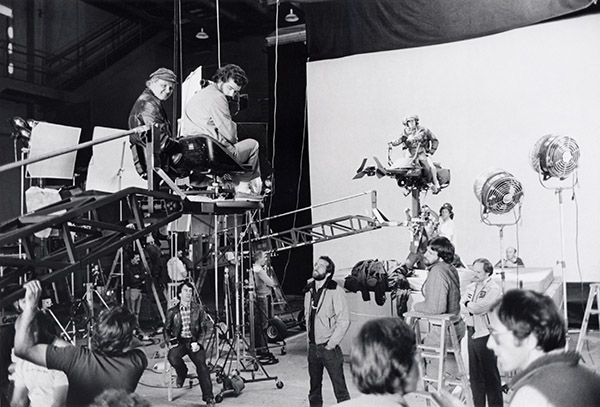 behind the scenes making star wars return of the jedi