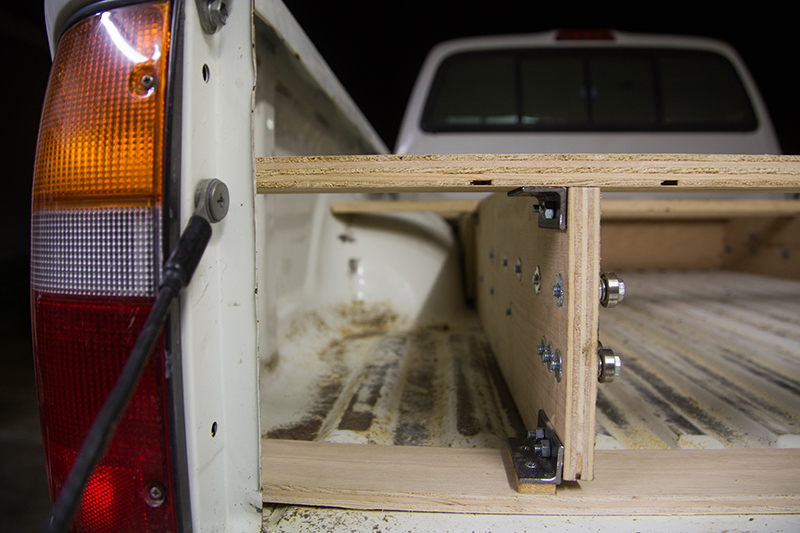 What this guy built is brilliant and going to make truck owners very jealous - Diy truck bed storage ...