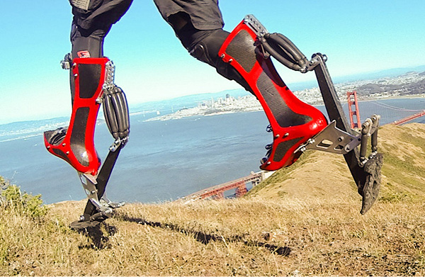 Bionic boots speed