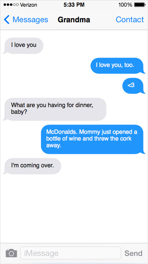 texts from toddlers
