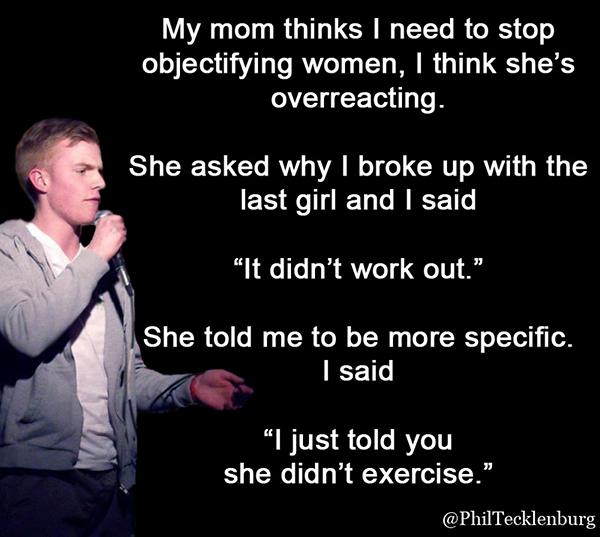 funny quick stand up jokes