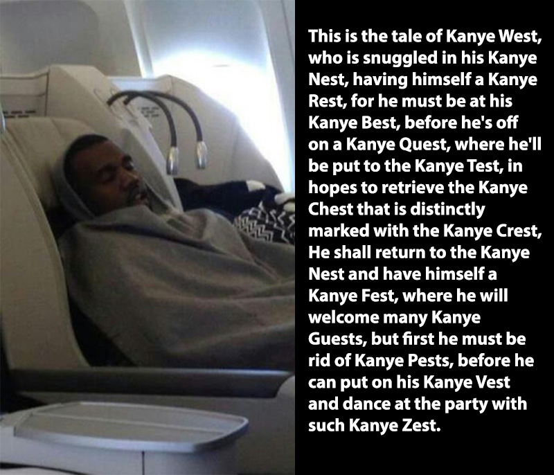 tale of kanye west