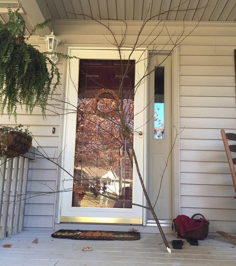 stick on door