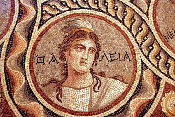 ancient Greek mosaic