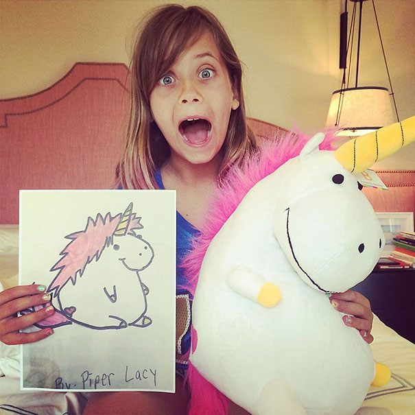 toys made from kid drawings