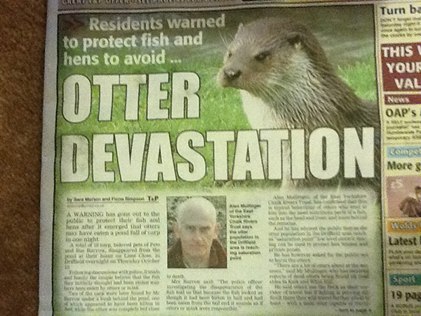 The 50 Greatest News Headlines Of All Time