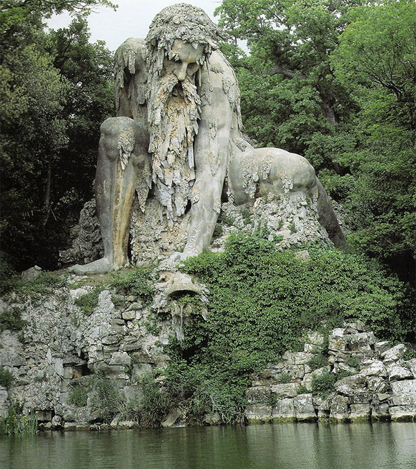 The Apennine Colossus Florence Italy