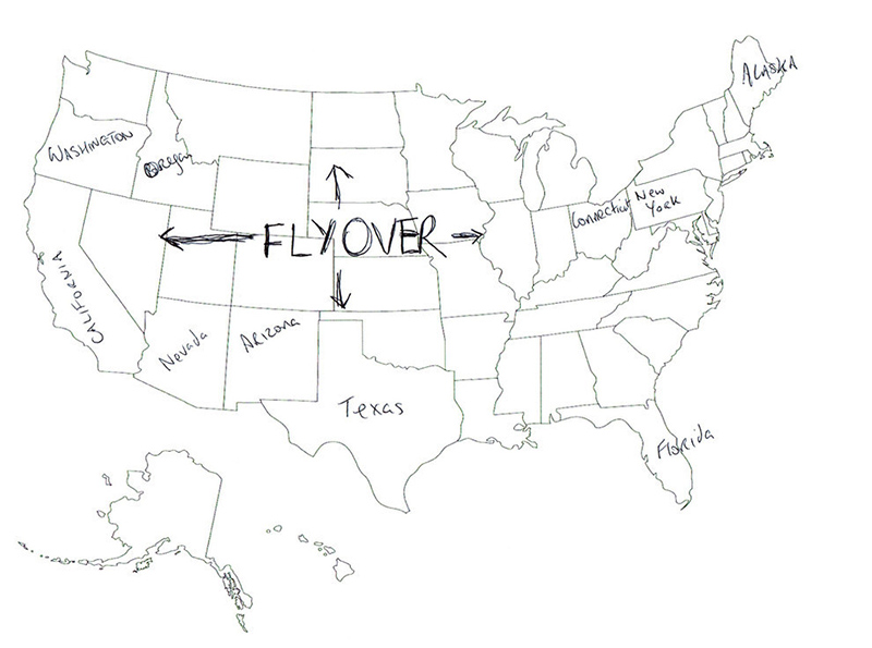 People In London Tried To Label The 50 US States On A Map These