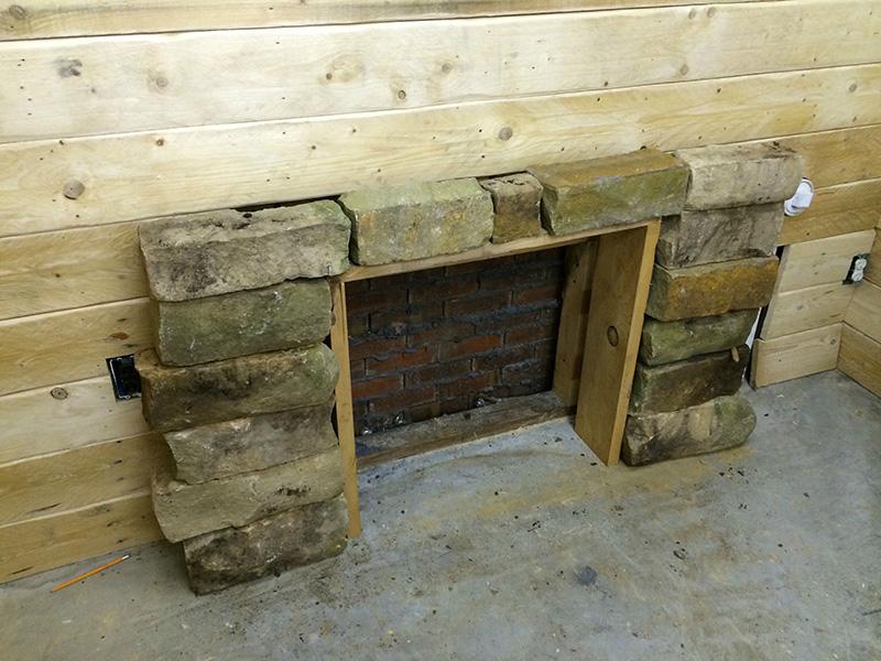 basement cabin man cave