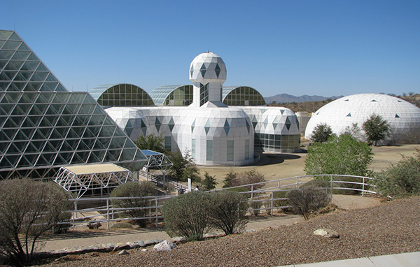 Biosphere 2 failed from wind and stress