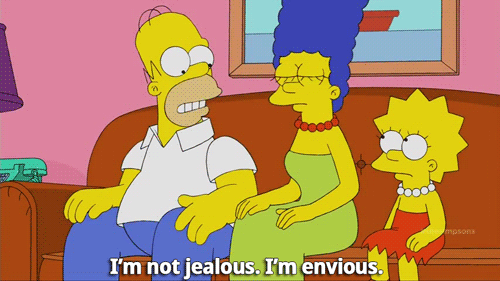 Homer envy and jealousy