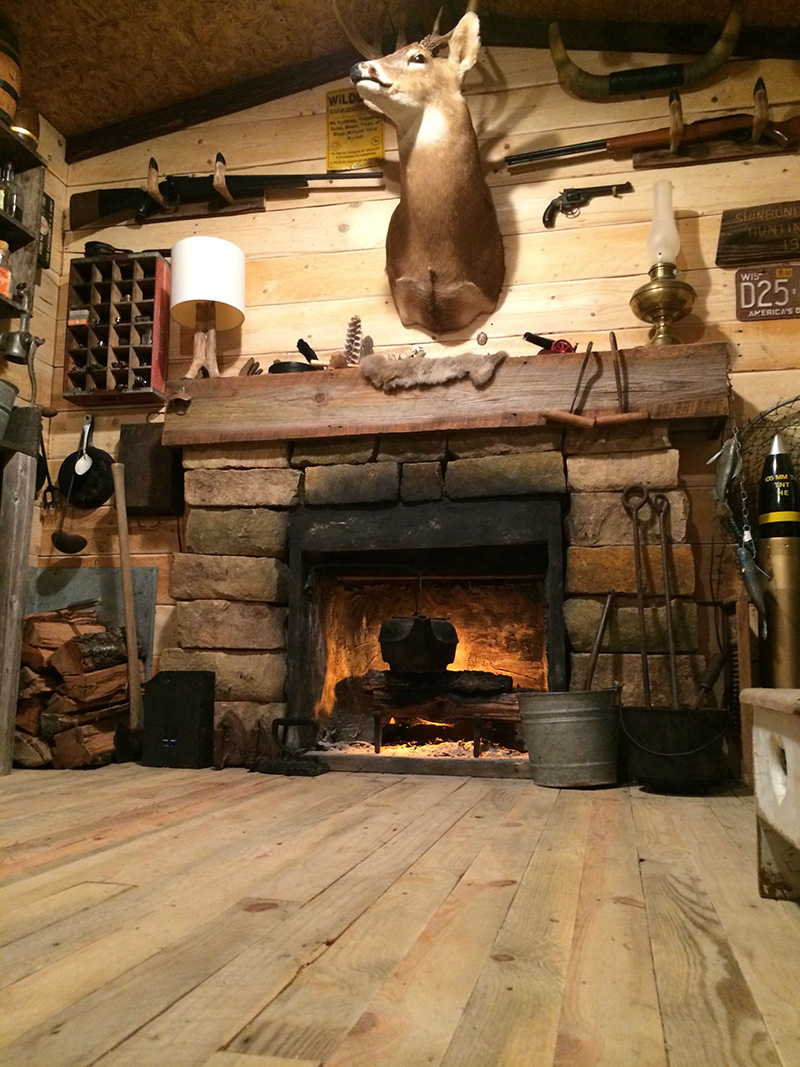 This Guy Spent 100 Turning A Basement Room Into A Rustic