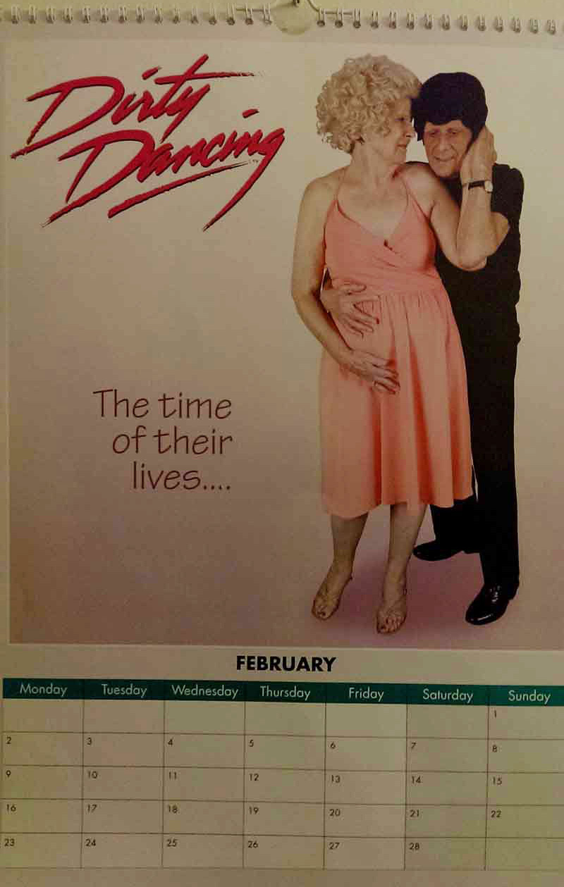 retirement home movie calendar
