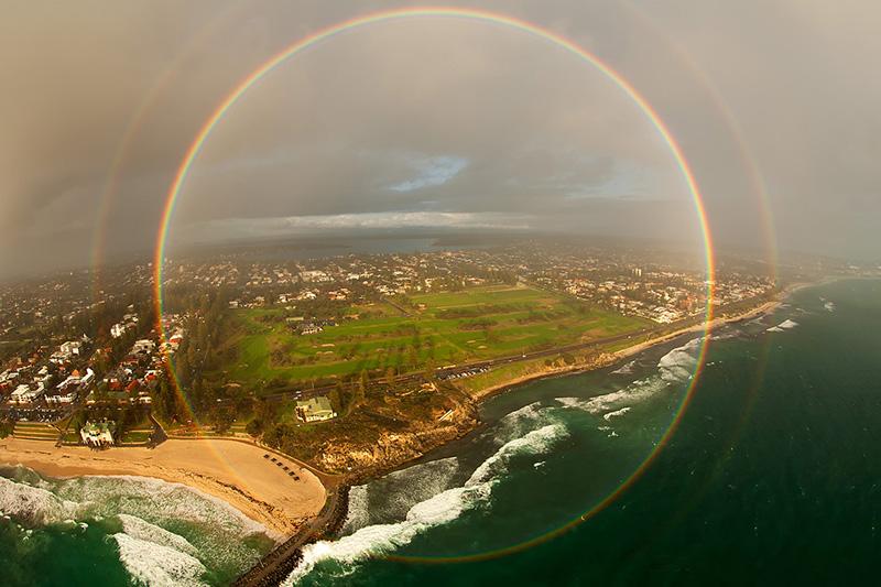 rainbow full circle