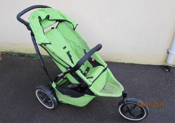 ebay stroller funny dad