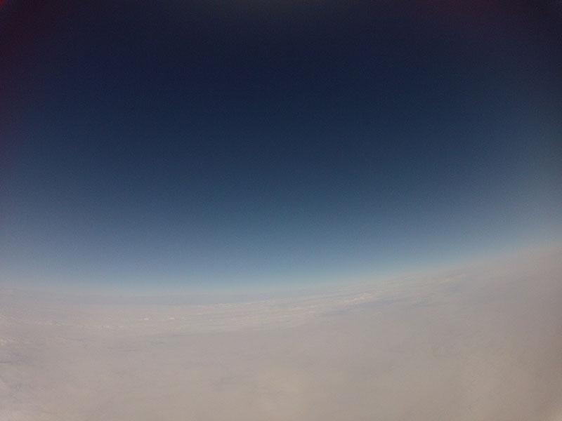 GoPro 80000 feet weather balloon