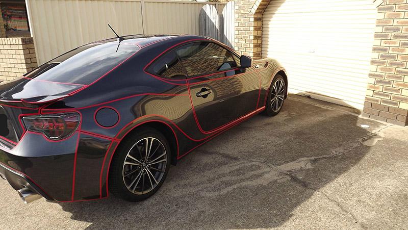 car reflective tape
