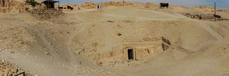 God of dead tomb found