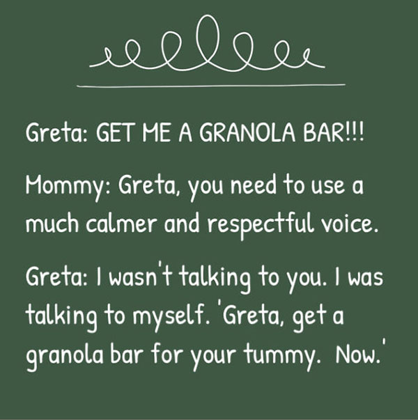 Parents Of A Sassy Toddler Named Greta Share Her Finest Moments