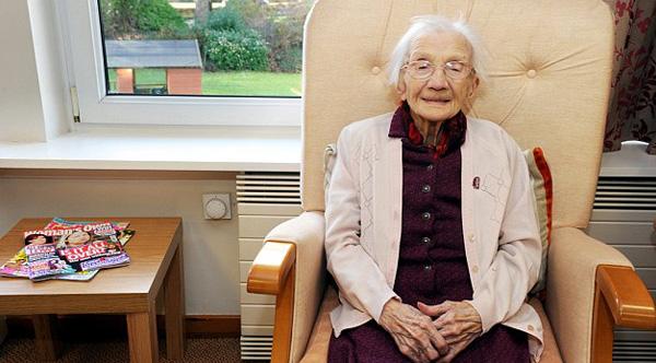 oldest woman alive secret to life
