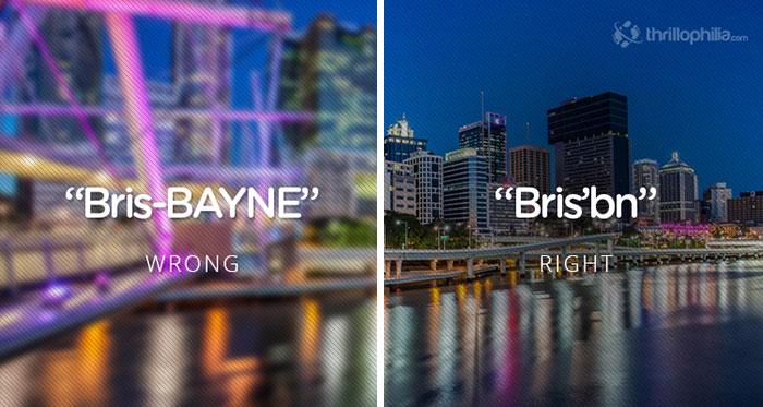 americans mispronounce places
