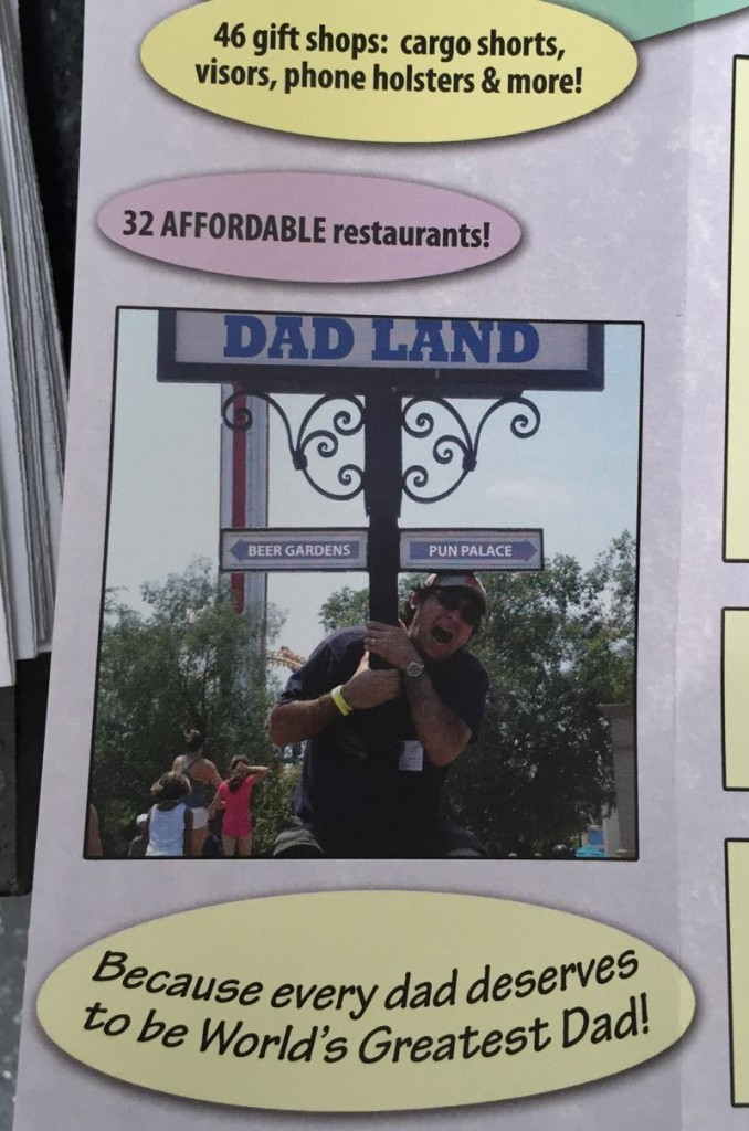 dad land brochure