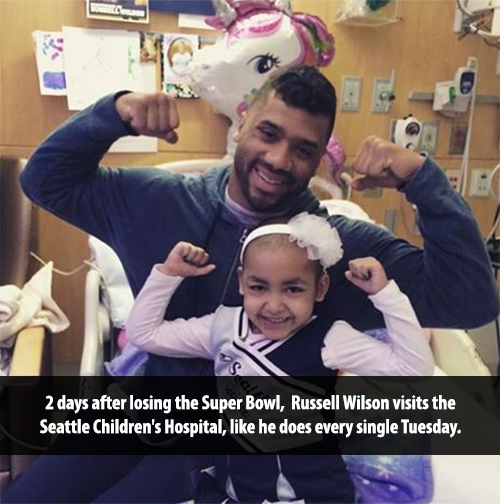 russell wilson childrens hospital