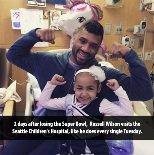 russell wilson childrens hospital