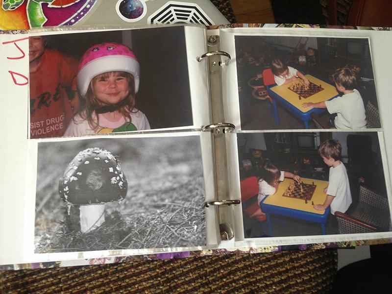 mushroom photo album