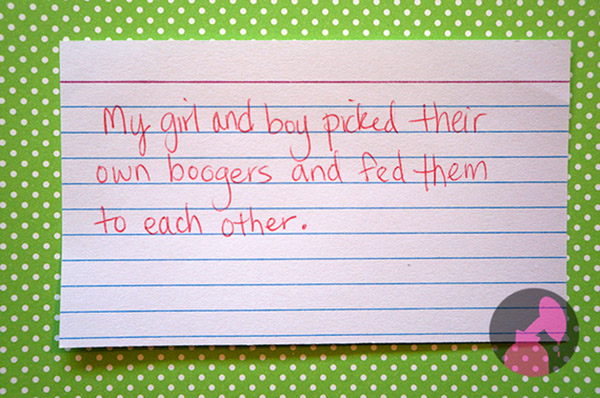 ridiculous things kids do funny