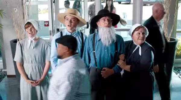 Amish elevator joke